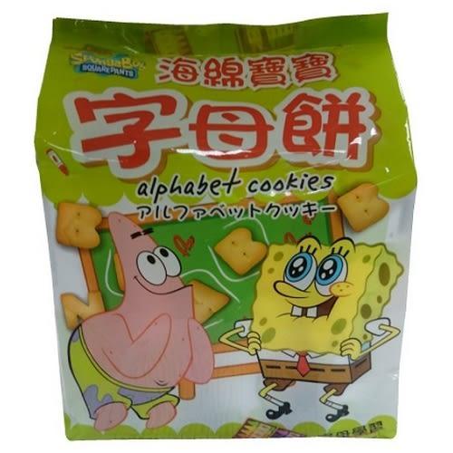 巧益海綿寶寶字母餅 160g【愛買】