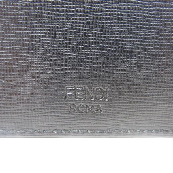 FENDI 鉚釘防刮牛皮小怪物名片夾 Monster Studded Card Holder【BRAND OFF】