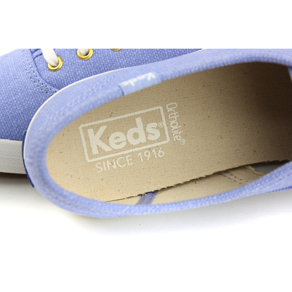 Keds CHAMPION CHALKY CANVAS 帆布鞋 粉藍 女鞋 9182W122460 no286
