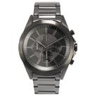 A/X Armani Exchange 三眼率性線條鋼帶男腕錶43mm(AX2601)271016
