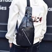男士單肩斜挎包小胸包男韓版腰包戶外運動休閒騎行背包胸前男包包-金牛賀歲