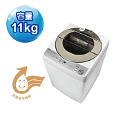 【SHARP夏普】11公斤無孔槽變頻洗衣機 ES-ASF11T