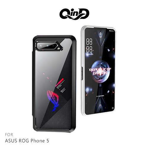 摩比小兔~QinD ASUS ROG Phone 5 二合一保護殼 #手機殼 #保護套 #全包邊