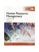 二手書博民逛書店 《Human Resource Management (GE)14版》 R2Y ISBN:9781292018430│Dessler