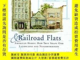二手書博民逛書店Ranches,罕見Rowhouses and Railroad