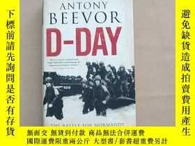 二手書博民逛書店D-Day:罕見The Battle for Normandy 英文原版 精裝Y11026 Antony Be