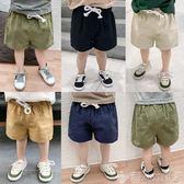 兒童褲子嬰兒短褲子夏裝新款童裝男中褲3歲1小童寶寶兒童幼兒薄款潮 【四月特賣】