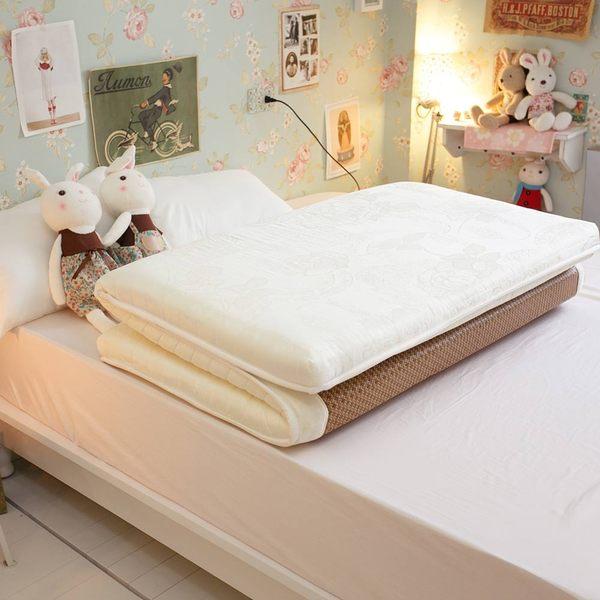 單人加大床墊 3.5X6.2尺 日系記憶棉獨立筒 冬夏兩用收納床墊【外島無法配送】學生、外宿租屋必備