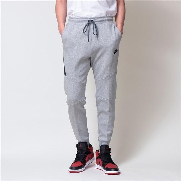 Nike Nsw 灰色 縮口褲 長拉鍊 長褲 棉褲 男 (布魯克林) 2019/1月 805163-063