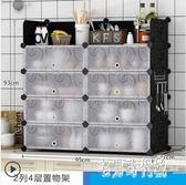 簡易組裝碗櫃家用櫥櫃收納櫃子儲物櫃多功能經濟型廚房置物餐邊櫃IP4512【宅男時代城】