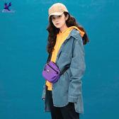 【早秋新品】American Bluedeer - 潮流寬鬆牛仔外套(魅力價) 秋冬新款