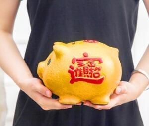 存錢罐 金豬存錢罐不可取家用大人用陶瓷儲蓄罐超大號只進不出兒童禮物【快速出貨八折搶購】