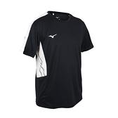 MIZUNO 男短袖T恤(免運 吸濕排汗 抗UV 咖啡紗 台灣製 慢跑 美津濃≡體院≡ 32TA101009