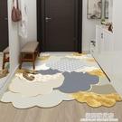 輕奢皮革入戶門地墊家用墊子可擦免洗pvc進門墊玄關腳墊門口地毯 極簡雜貨