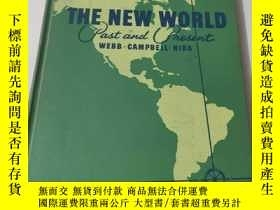 二手書博民逛書店英文原版《THE罕見NEW WORLD PAST AND PRESENT 》附多圖Y26203 VICTOR