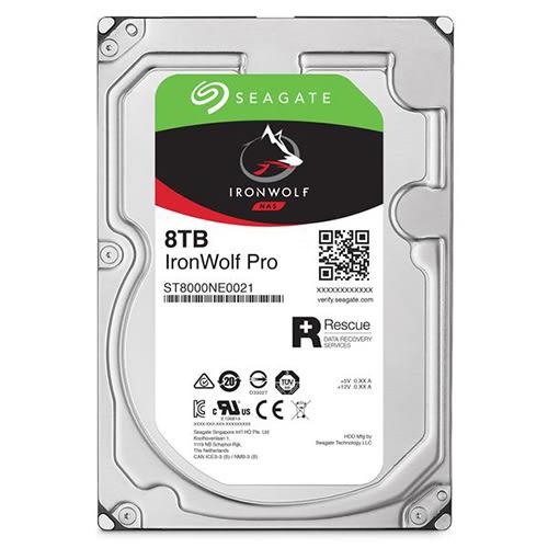 Seagate 希捷 那嘶狼 IronWolf Pro 8TB 3.5吋 NAS專用 內接硬碟 (ST8000NE0021)