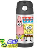 [美國直購] Thermos 兒童保溫水壺 12 Ounce Funtainer Bottle Spongebob 海綿寶寶 F4015SB6