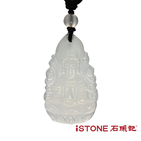 八大守護神項鍊-冰種白玉髓 石頭記