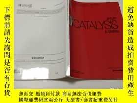 二手書博民逛書店Applied罕見Catalysis A: General 應用催化生物化學學術期刊(2015年1月第489卷)奇