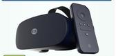 VR 真4K海鏡大畫頭戴電視移動電影院高清VR眼鏡壹體機3D虛擬現實頭盔  霓裳細軟