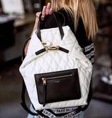 ■專櫃75折 ■2019新品■ Givenchy 全新真品BB506 Duo 絎縫前拉鍊手提後背包