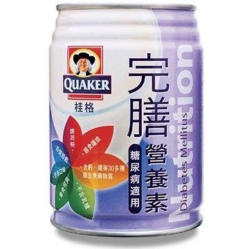 【限宅配】桂格完膳營養素 糖尿病配方 250ml x24罐【BG Shop】