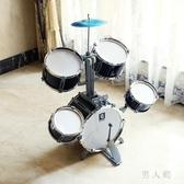 架子鼓兒童3-6歲初學者樂器鼓男孩女孩大號敲打早教益智玩具禮物 PA15385『男人範』
