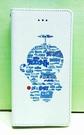 【震撼精品百貨】Doraemon_哆啦A夢~IPHONE 6掀蓋式皮套-剪影藍