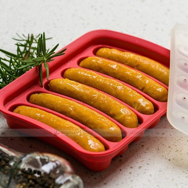 BREADLEAF 矽膠香腸模具 米腸 不須腸衣 耐高溫模具 蛋腸蛋糕熱狗烘焙模具自製 烤模 巧克力模B070