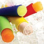 5只裝棒棒冰模具硅膠無毒碎碎冰模具冰棒冰棍模具家用冰淇淋模具 晴天時尚館