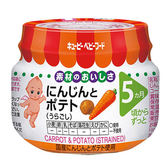 日本KEWPIE 胡蘿蔔馬鈴薯泥70g (5個月以上適用)