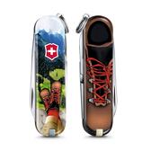 2020 限量上市 VICTORINOX 瑞士維氏限量迷你7用印花瑞士刀-我愛登山