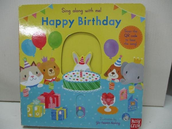 【書寶二手書T1/少年童書_DZD】Sing Along With Me! Happy Birthday_Yu-hsuan Huang