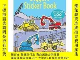 二手書博民逛書店Diggers罕見Sticker Book-Y465786 Dan Crisp Usborne Publish