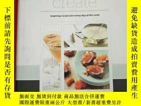 二手書博民逛書店create:罕見inspiring recipes for e