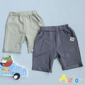 童裝 短褲 1982標籤口袋鬆緊短褲(共2款)