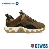K-SWISS Cali Trail WP戶外運動防水鞋-男-咖啡/紅