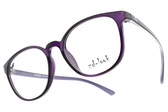 ZD-LOOK 光學眼鏡 HD-KS198 C7 (透紫-紫) 12星座 韓製濾藍光眼鏡