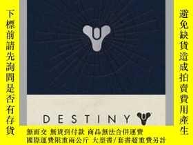 二手書博民逛書店Destiny罕見Hardcover Blank JournalY410016 . Bungie Insigh