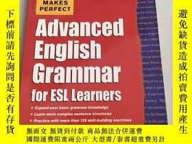 二手書博民逛書店Practice罕見Makes Perfect Advanced English Grammar for ESL