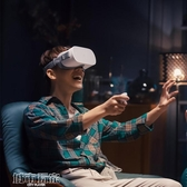VR眼鏡 小米VR一體機游戲機體感機 4K視頻 3D電影頭盔眼鏡 AR mks雙11
