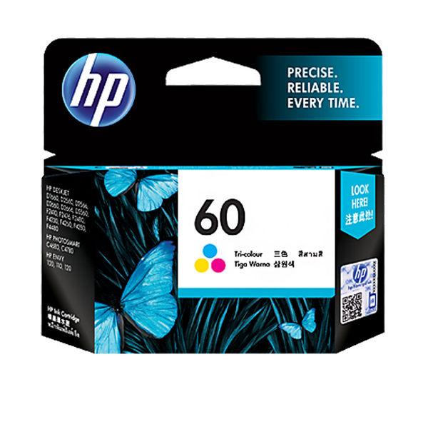 CC643WA HP 60 彩色墨水匣 適用 HP F2410,F4200,F4240,F4280,F4480,D1660/D2500/D2530  /D2545/D2560/D2660/D5560