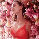 EASY SHOP-香榭花都璀璨 無鋼圈B-D罩內衣(玫瑰)
