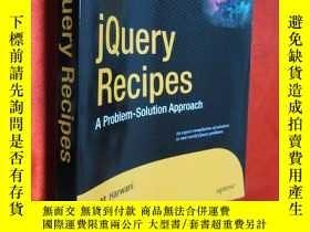 二手書博民逛書店jQuery罕見Recipes 【詳見圖】Y5460 Bintu