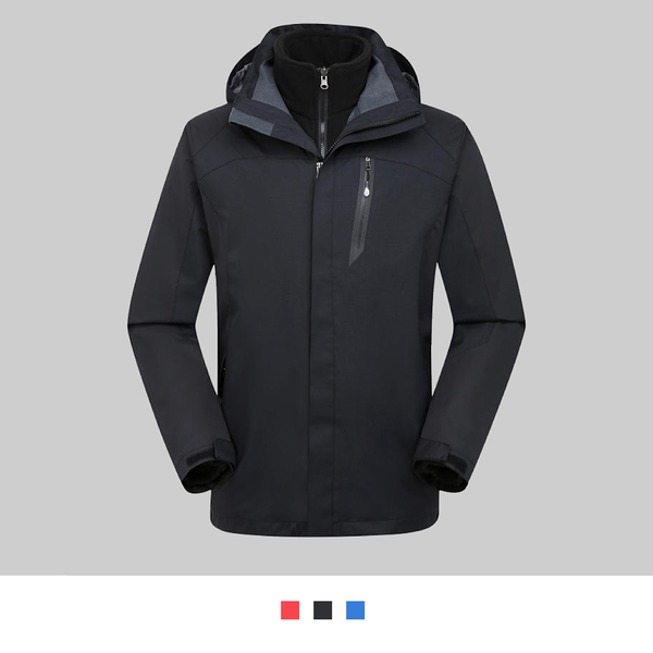 【晶輝團體制服】SS1623*經典二件式防風防潑水衝鋒外套(似GORE-TEX)可單買/ 代印公司LOGO