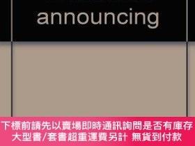 二手書博民逛書店Professional罕見Broadcast Announcing-專業播報Y414958 Lee J. D