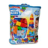MEGA BLOKS-美高80片積木袋(藍)[衛立兒生活館]