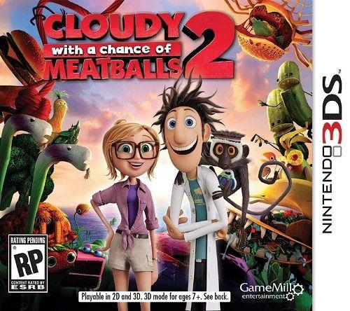 3DS Cloudy Chance Meatballs 2 食破天驚 2(美版代購)