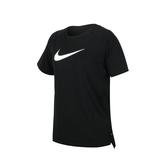 NIKE 女短袖T恤(慢跑 路跑 運動上衣 反光 大勾  免運 ≡排汗專家≡