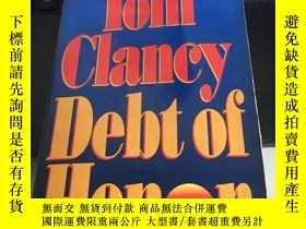 二手書博民逛書店tom罕見clancy debt of honorY280165